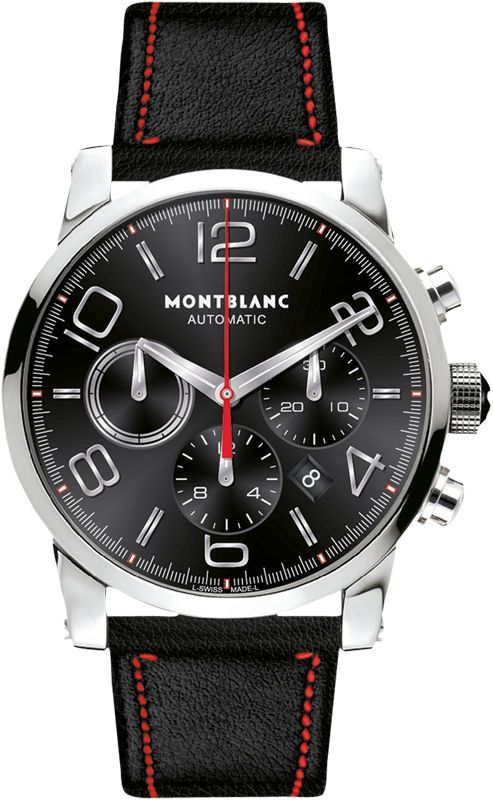 Genuine Montblanc Watches New MontBlanc Timewalker Chronograph Automatic Watch for Mens Model 109345