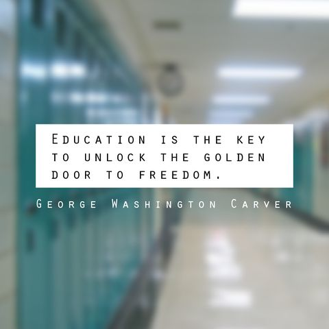 education is the key to unlock the golden door of freedom Education is the key to unlock the golden door of freedom get all the details, meaning, context, and even a pretentious factor for good measure quotes - education is the key to unlock the golden door of freedom.