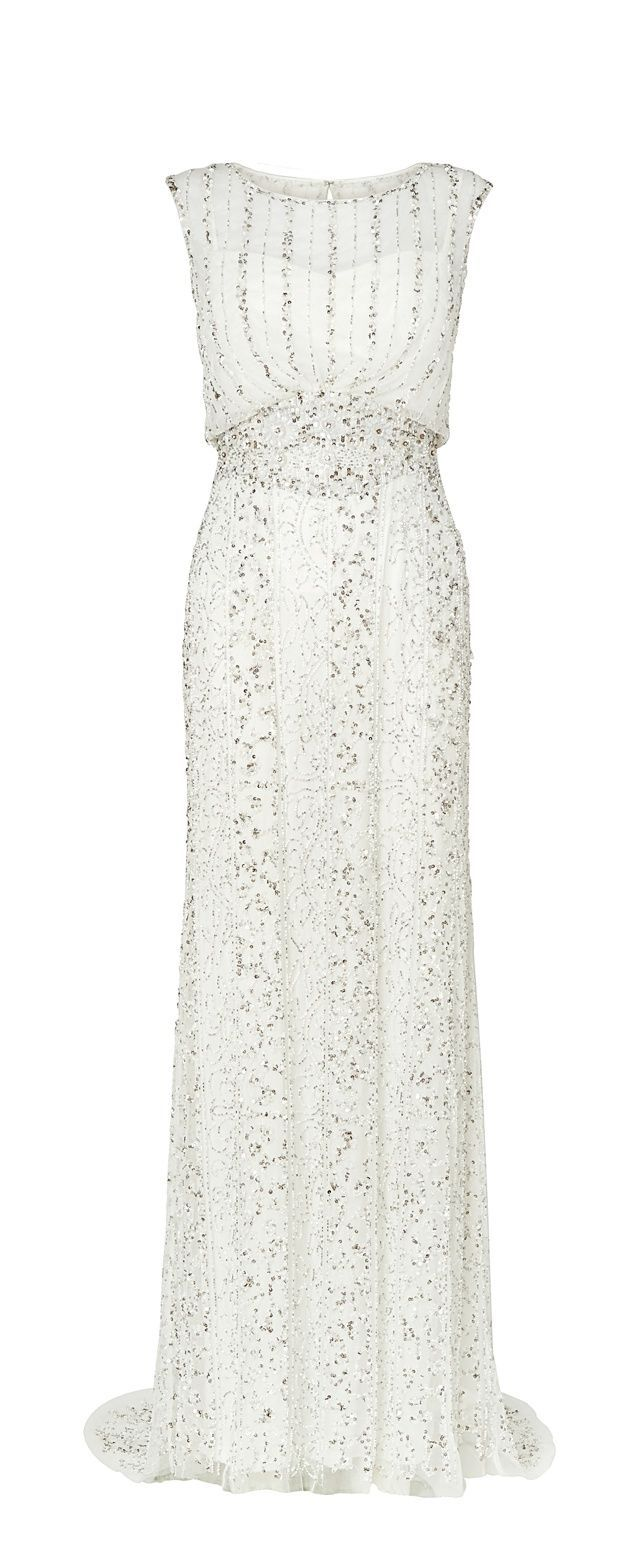 Hope Beaded Grecian Wedding Dress from Phase Eight