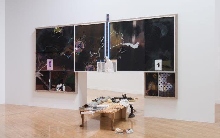 Installation view Helen Marten 2016, Turner Prize 2016