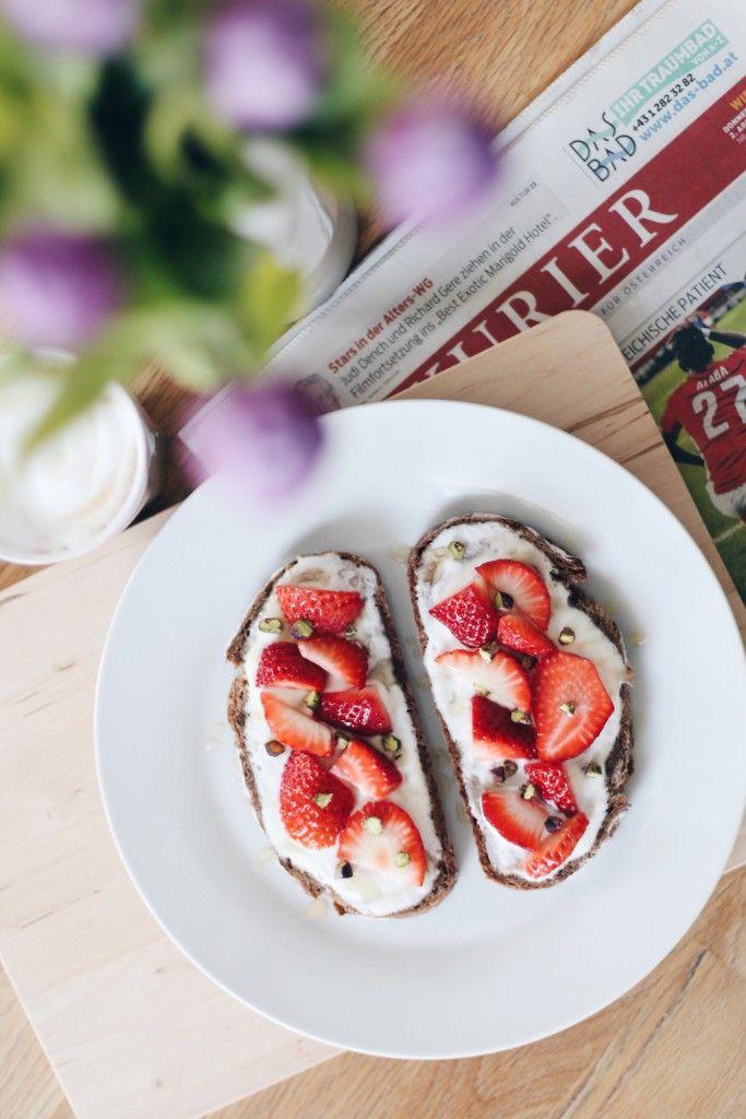 {recipe} strawberries and bread.