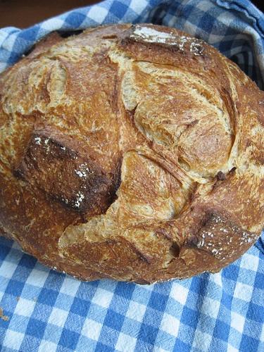 tender potato bread in romertopf by BakingSoda, via Flickr