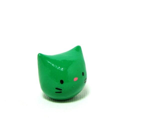 Kelly Green Pocket Kitty