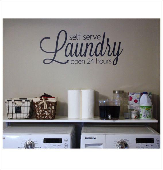 Best Hour Laundry Ideas On Pinterest Pergo Outlast - Custom vinyl decals wichita ks