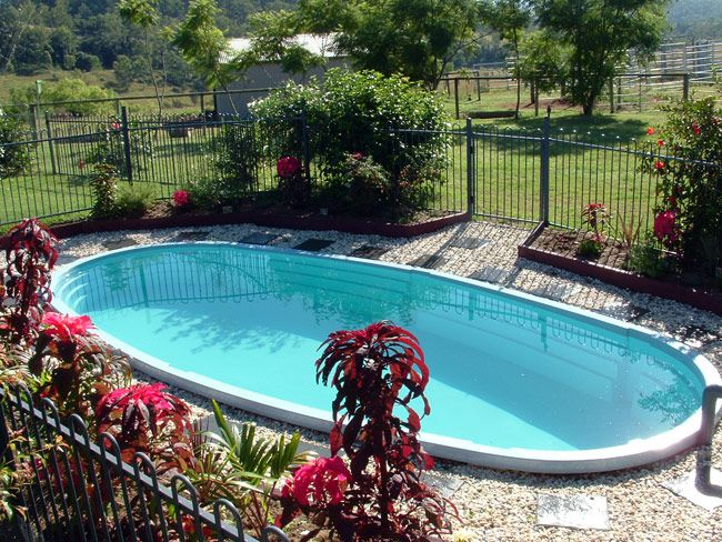 17 best ideas about above ground fiberglass pools on for Above ground fiberglass pools
