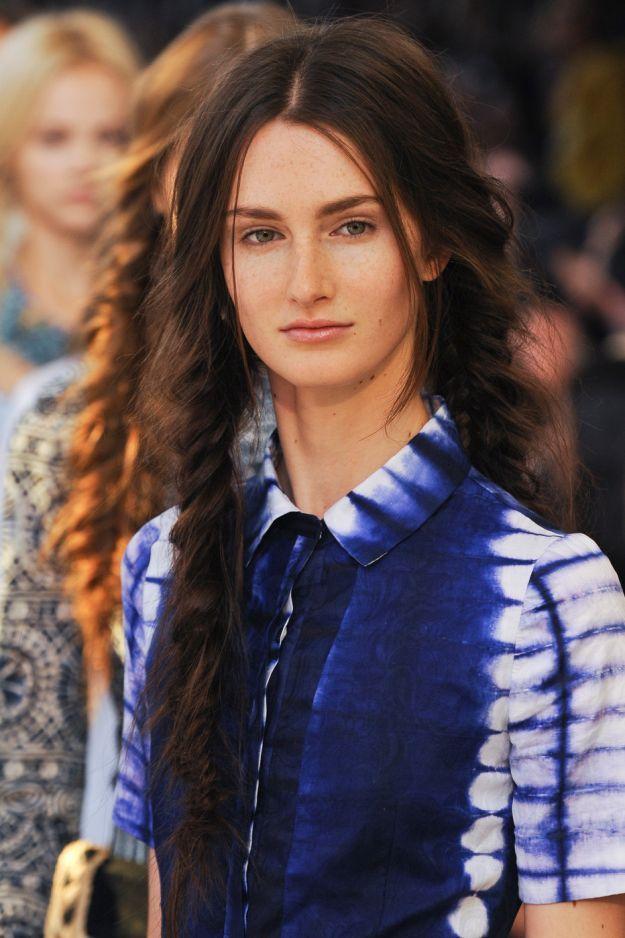 "Прическа с косами ""рыбий хвост"" в стиле бохо-шик ::: onelady.ru ::: #hair #hairs #hairstyle #hairstyles"