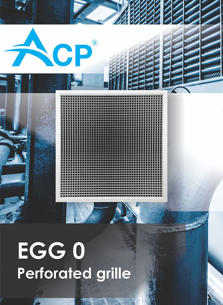 Perforated Ventilation Grille ( Grila perforata)  | #hvac | #acp | #manufacturer | #ventilation | #products | #romania | #ventilatie  | #griledeventilatie | #producator