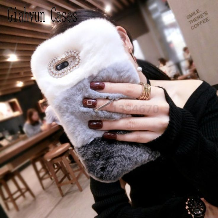 Bling Hot Winter Warm Soft Fake fur Rabbit's hair stand For Samsung Note 3 4 5 7 8 J2 J5 J7 Prime G530 back cover phone case. Yesterday's price: US $9.99 (8.14 EUR). Today's price: US $6.99 (5.73 EUR). Discount: 30%.