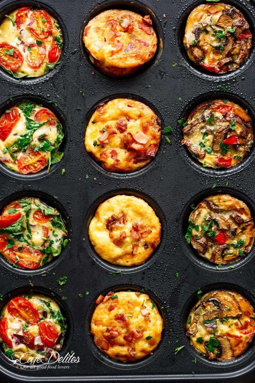 Bonus, das sind zwei / drei Zutaten Ei Muffins, ka…