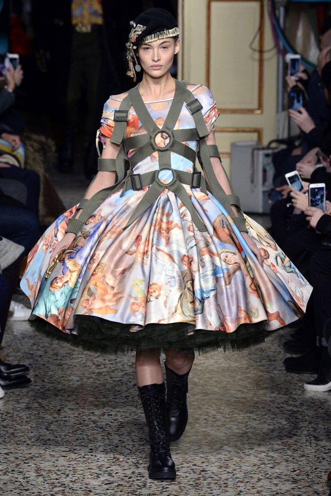 Неделя моды в Милане: Moschino осень-зима 2017/18 (Интернет-журнал ETODAY)