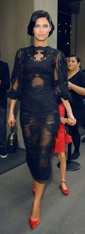Dolce and Gabbana...that dress is everything