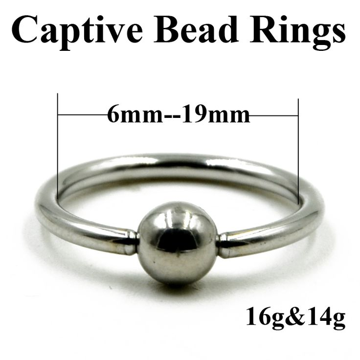 1.99$  Watch now - 10 Pieces Extra Large Size Surgical Steel Captive Bead Ring Septum Nose Hoop Ring Ear Tragus Cartilalge Labia Piercing Ring 16g   #shopstyle
