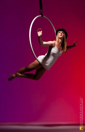 Since 2007 she has been performing worldwide as afreelance aerial artistat a variety ofhigh-scale eventsandcorporate galas(alongside such stars asPrince,Elton John,SealandKatherine Jenkins). http://www.spotoneventsdirect.co.uk/entertainers/nicole-pearson/