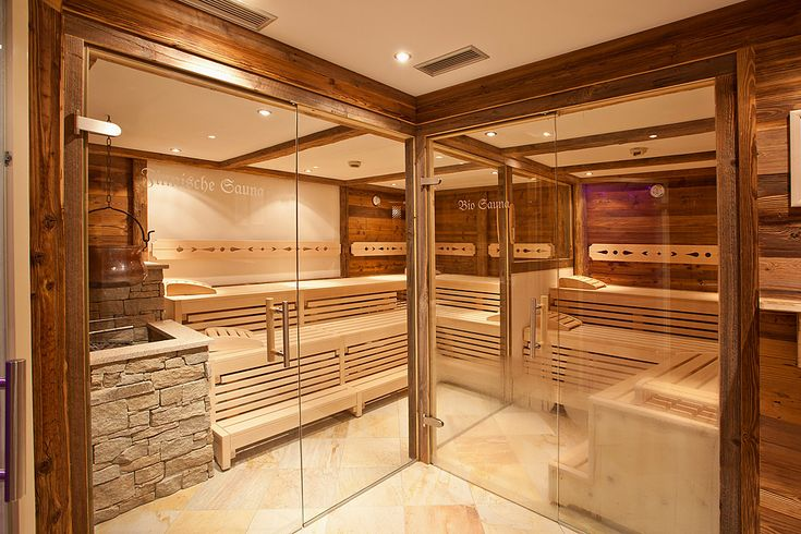 The Classy Rustic Saunarium In Our New Berner Spa Is