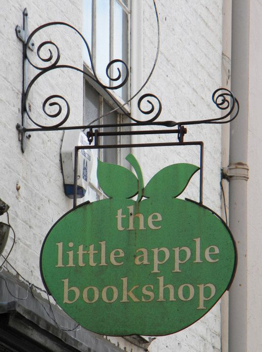 Pub and Shop Signs - the little apple bookshop