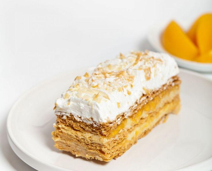 Napoleon-Torte mit Blätterteig und Nuss-Sahne-Buttercreme :) schnell gemacht…