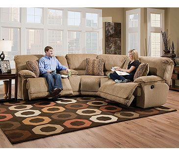 Catnapper grandover reclining sectional you choose the for Living room furniture configurations