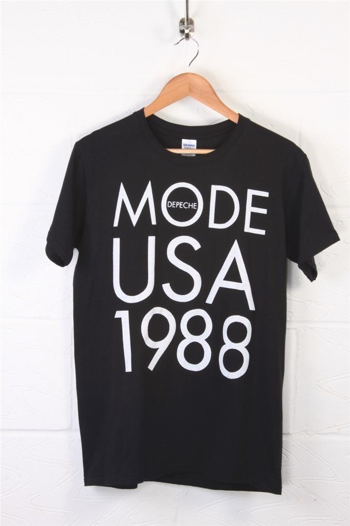 retro depeche mode black t shirt tops pinterest. Black Bedroom Furniture Sets. Home Design Ideas
