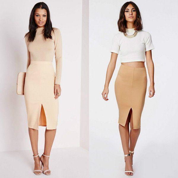 Модели модных юбок шить