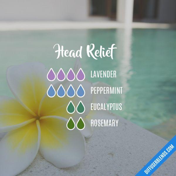 Head Relief - Essential Oil Diffuser Blend