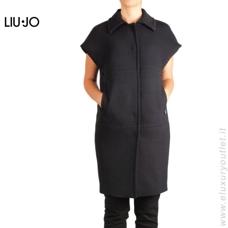#Coat by #LiuJo -60% on #eluxuryoutlet!!! >> http://www.eluxuryoutlet.it/it/cappotto-liu-jo-4.html