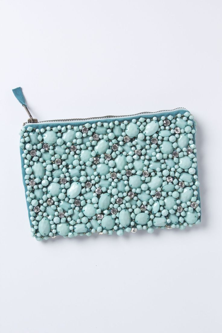 Jewel In The Rough Pouch - Anthropologie.com