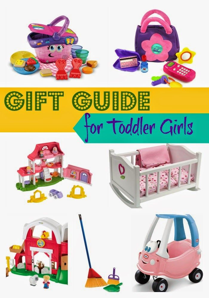 Gift Ideas for Toddler Girls.  Great List for shopping for toddler girls!