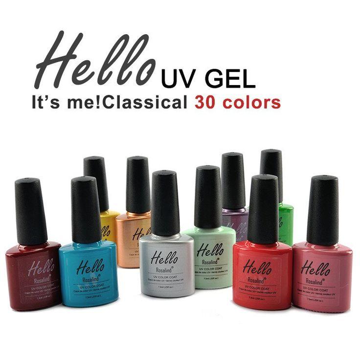 Rosalind(Sapphire) Choose one Sapphire Nail Gel Newest 159 Fashion UV Gel Polish 7.3 ML #001-030