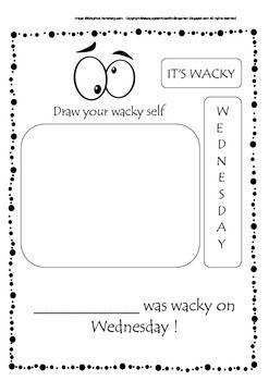 Wacky Wednesday Freebie