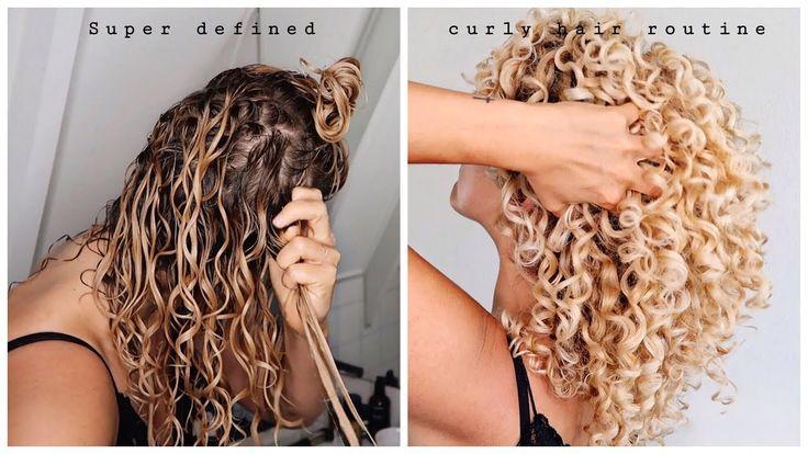 CURLY HAIR routine super définie – à quoi ressemble une véritable routine capillaire   – Hair