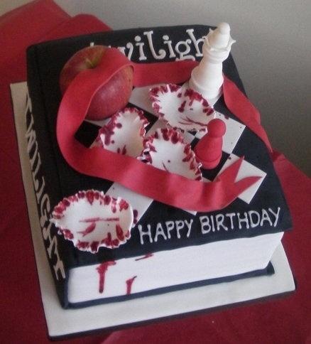 The Twilight Saga - Enjoy x  Cake by Kelly