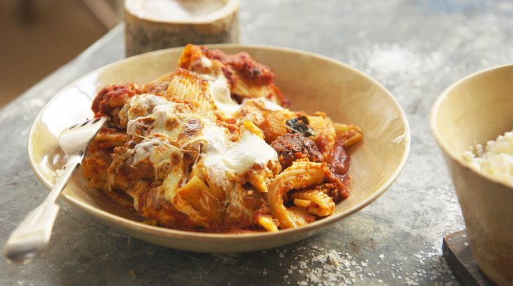 Try this pasta recipe by Laura Vitale from Simply Laura.