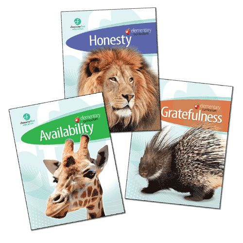 Character First Education offers free resources as well as a packet for $22 for over 20 character traits