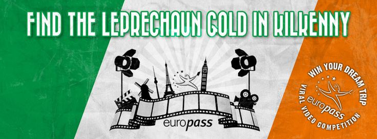 Love Ireland? Why won't you tell us about it with a video? Win a trip to your dream city - or win shopping vouchers: http://europass.cedefop.europa.eu/en/video-competition