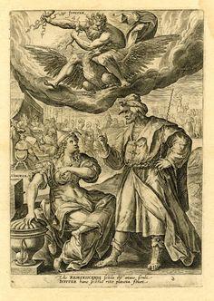marinni   Семь планет-The seven planets. Гравюры разных художников. 16 век