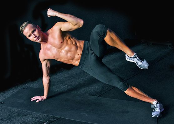 Once you have it, pull the knee up as you pull the elbow in with a deep exhale. Extend all the way back out overhead and repeat for 15 to 20 reps per side.  Read more: http://www.livestrong.com/blog/get-six-pack-abs-zero-sit-ups#ixzz3Ilekl1O2 Photos by Benjamin Patterson