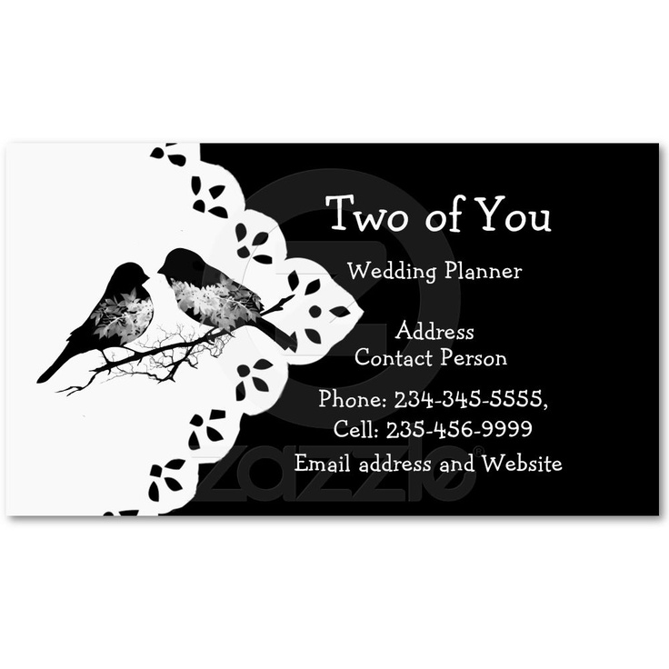 10 best Wedding business cards images on Pinterest | Business ...