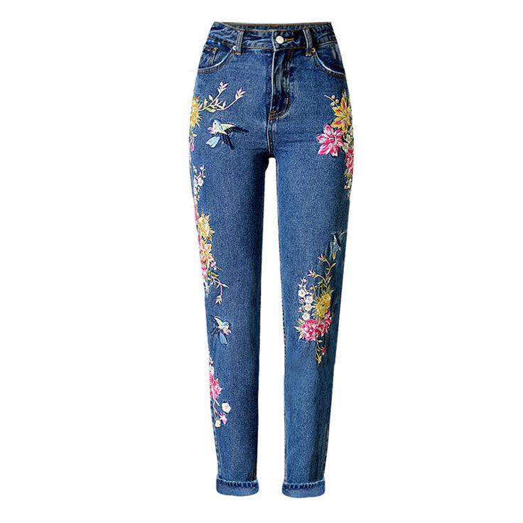 25 best ideas about pantalones vaqueros bordados en