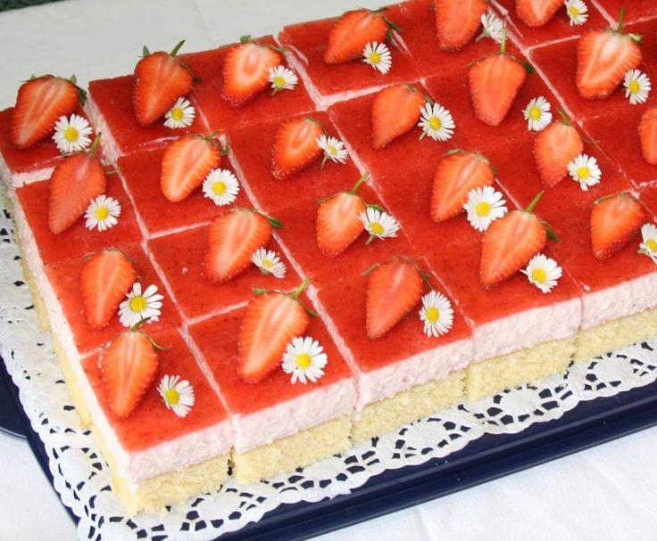 Rezept Erdbeertraum- Kuchen von conny_k - Rezept der Kategorie Backen süß