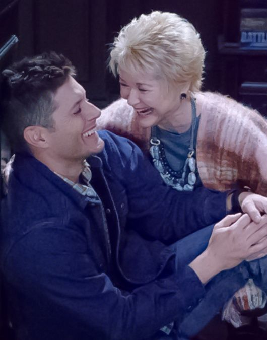 11x11 In The Mystic - Jensen and Dee Wallace, between the scenes :) (LizS edit)