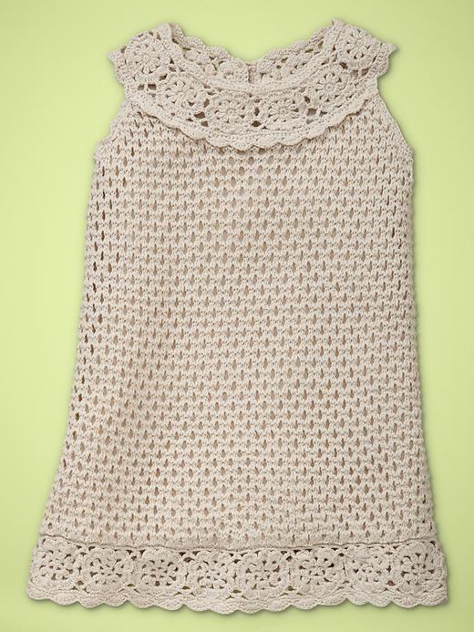 Vestido de bebe em Crochê