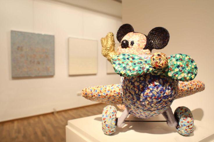 Sam's exhibition at the Kalman Maklary Fine Arts 2014 april...