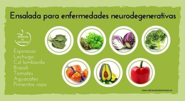 Ensalada para enfermedades neurodegenerativas