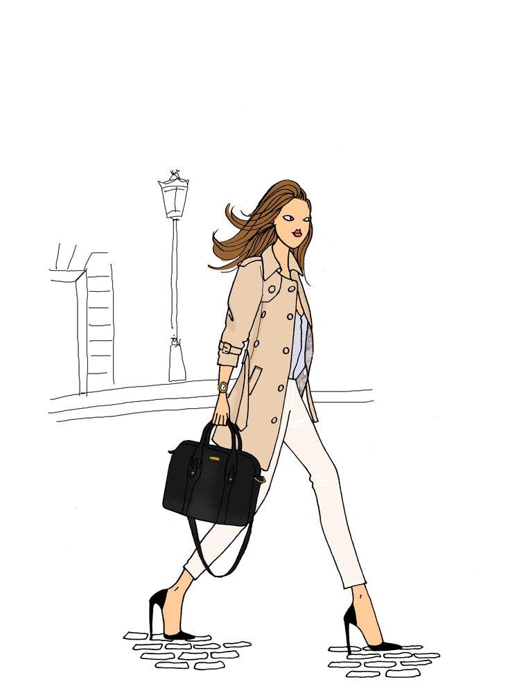 Les essentiels chics de la Parisienne