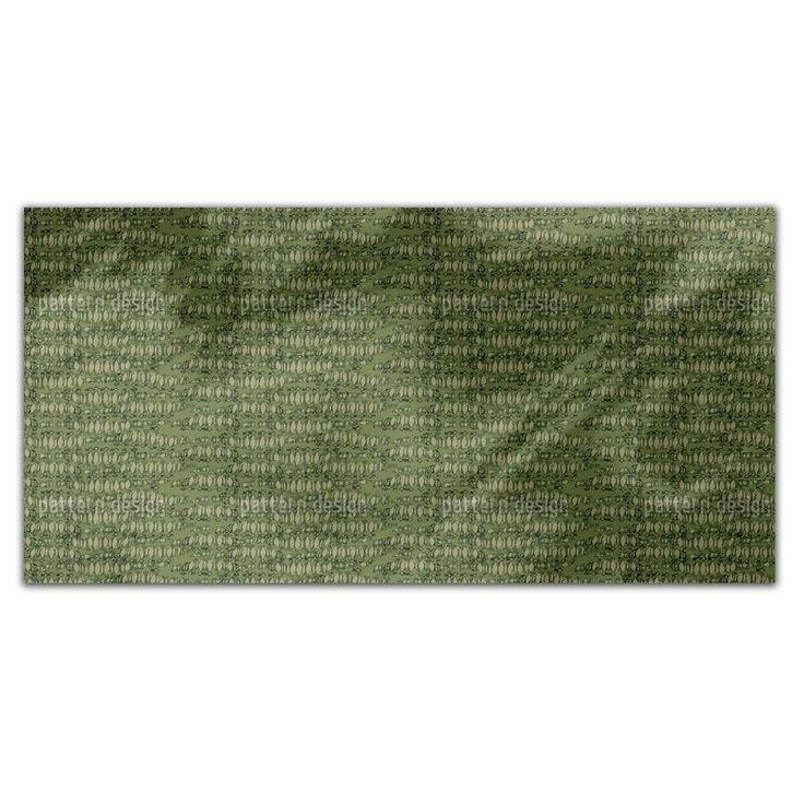 Uneekee Reptilio Green Rectangle Tablecloth (Medium), Multi (Polyester, Print)