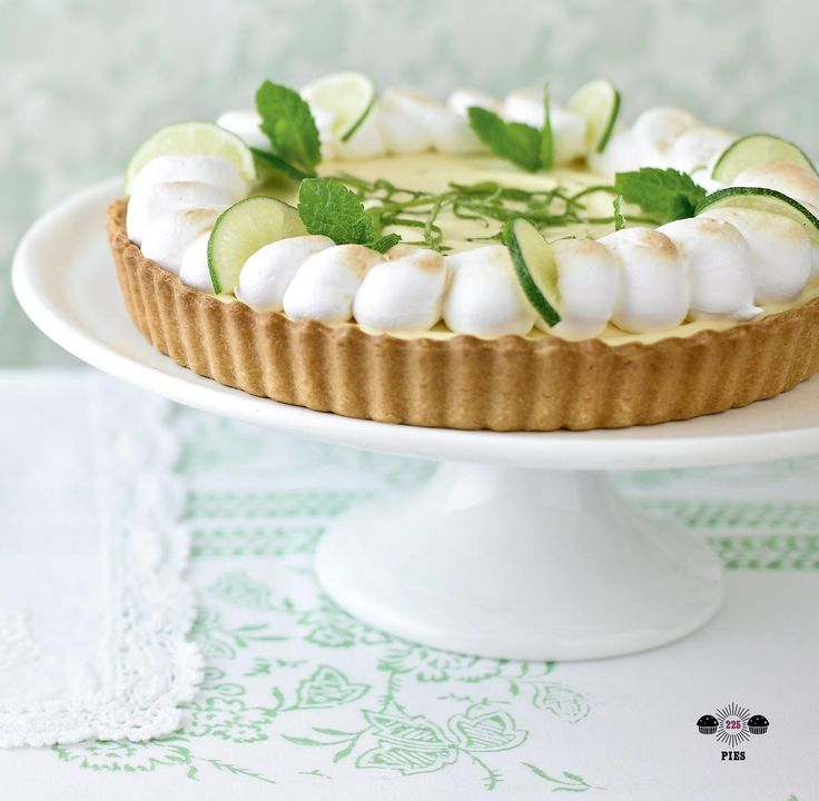 American Lime Pie - The Happy Foodie