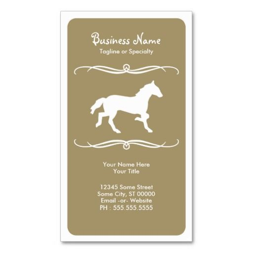 1000 images about animal trainer business cards on for Horse trainer business cards