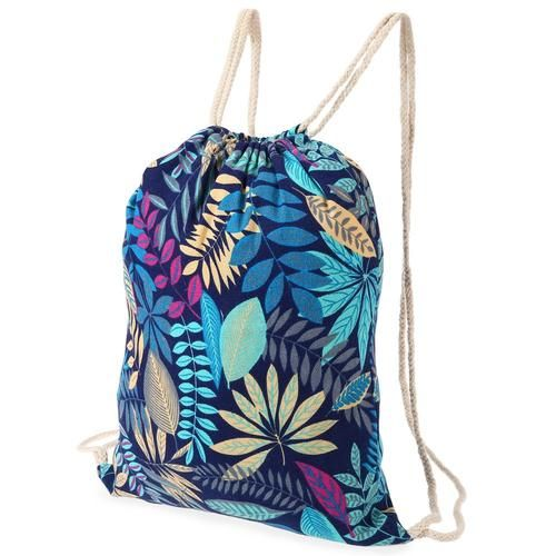 Forest Fairy Gym Sack    This leafy gymbag comes in 6 different patterns!    Turnbeutel für Waldfeen.