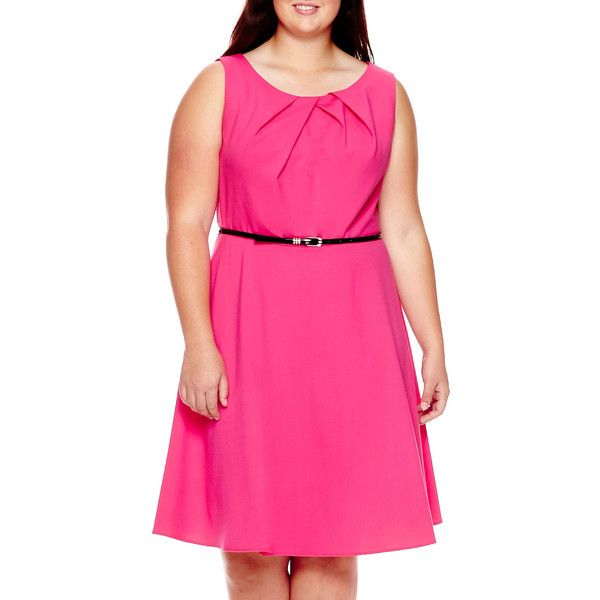 Alyx Sleeveless Belted Fit And Flare Dress 50 Liked On
