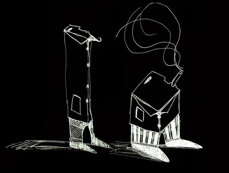Le duo (stylo bille) ©Antoine Digout